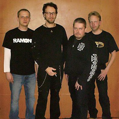 Left to right: Jaska Koivusilta, Mike Siitonen, Marko Purosto and Tomi Nouisiainen