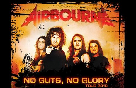 Airbourne at Kitchener, Ontario 2010