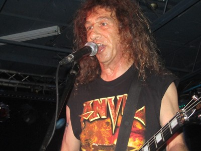 Anvil live in Toronto, Ontario