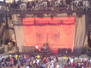 Cruefest Jones Beach Papa Roach