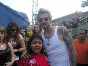 Cruefest Jones Beach James Michael and fan
