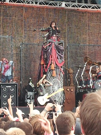 Iron Maiden and Alice Cooper in Ottawa