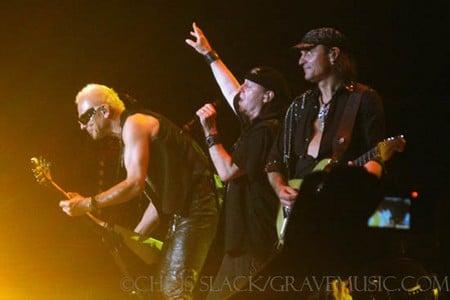 Scorpions and Dokken in Ridgefield, Washington 2010