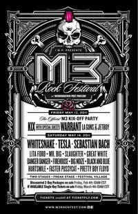 Whitesnake, Warrant And Tesla Heading To M3 Rock Festival