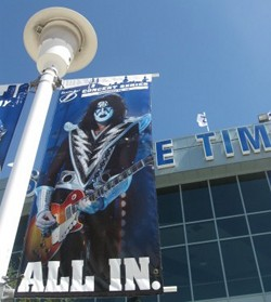 KISS Banners Stir Controversy In Tampa Bay
