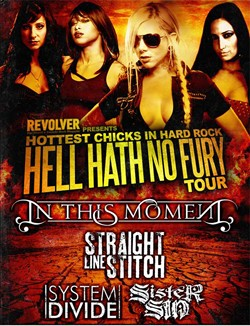 Sister Sin To Embark On Revolver's 'Hottest Chicks In Hard Rock' Tour