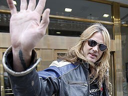 Sebastian Bach Arrested For Drug Possession... Again