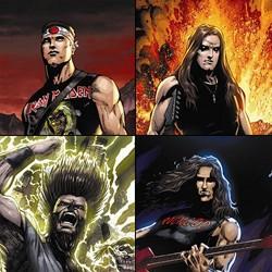 Eternal Descent Creates An Unholy Alliance Between Heavy Metal And Fantasy Comics
