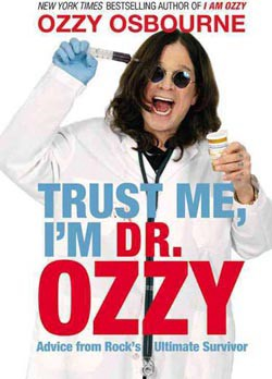 Ozzy Osbourne's Health Advice Coming To Book Stores