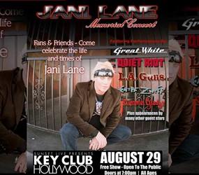 Legendary Rock Bands Unite To Honor Jani Lane At Memorial Concert