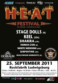 Keel And Stage Dolls Headline H.E.A.T. Festival