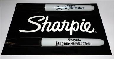 Yngwie Malmsteen Honored By Sharpie Pens