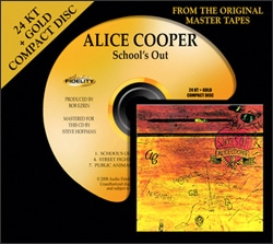 Alice Cooper's School's Out Gets Gold Remaster Treatment
