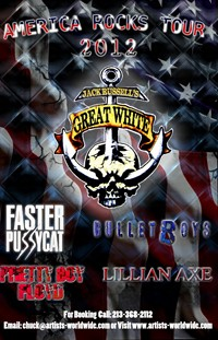 Great White, Faster Pussycat, BulletBoys And More Join Forces For 'America Rocks' Tour