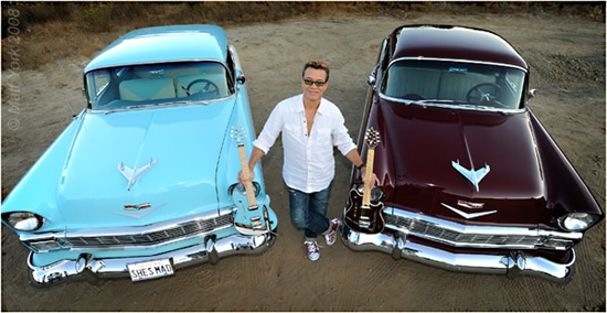 Eddie Van Halen To Auction A Pair Of 1956 Chevy Classic Cars
