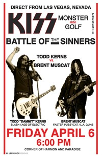 Sin City Sinners Compete In Las Vegas KISS Event