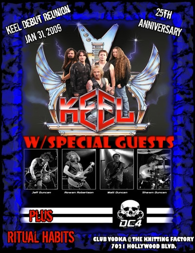 DC4 Added To Keel Debut Reunion Show