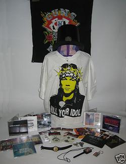 Guns N'Roses 'Top Hat' Box Set Being Auctioned Online