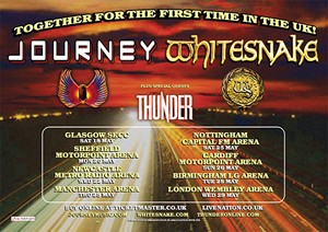 Journey And Whitesnake Team Up For 2013 UK Tour