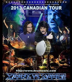 Appice Drum Wars Kicks Off Canadian Tour On May 9th