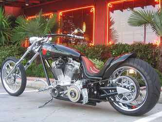 Guns N' Roses Custom Chopper Motorcycle Being Auctioned Online