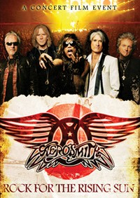 Aerosmith's Concert Film 'Rock For The Rising Sun' Coming In July