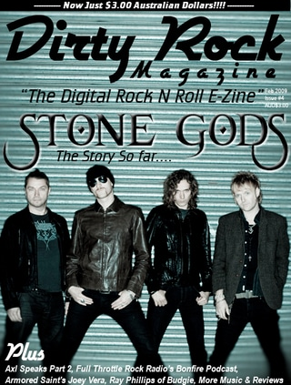 Dirty Rock Magazine Issue 4 Now Available