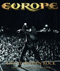 Europe Gear Up For 'Live At Sweden Rock - 30th Anniversary Show' DVD Release