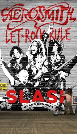 Aerosmith And Slash Team Up For 'Let Rock Rule' Summer Tour