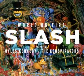 Slash's 'World On Fire' Coming In September