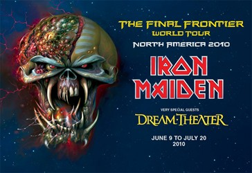 Iron Maiden Announce New CD The Final Frontier And North American Tour