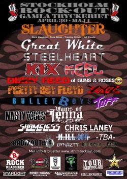 Stockholm Rock Out Festival Finalizes Line Up