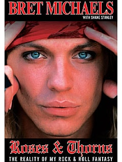 Bret Michaels' New Book Cover Revealed