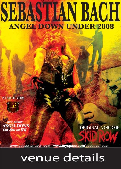 Sebastian Bach Angels Down Under 2008