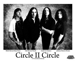Circle II Circle Enters The Studio
