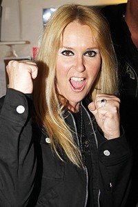 Lita Ford Visits Rock Of Ages