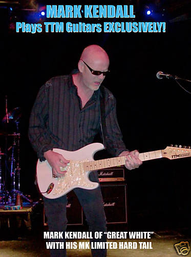 Mark Kendall Of Great White's Guitar Being Sold On Ebay