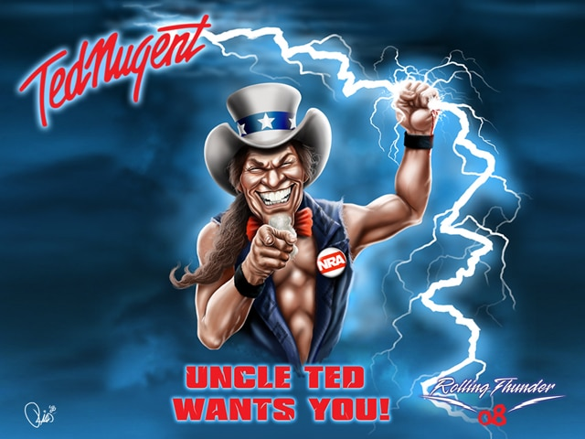 Ted Nugent Rolling Thunder 2008 Tour