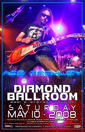 Ace Frehley Rocket Ride 2008 Tour