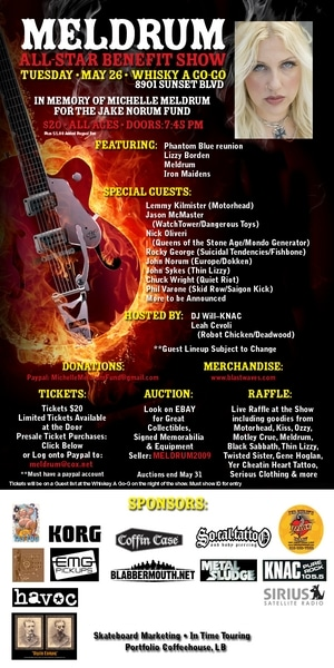 All-Star Benefit Concert For Michelle Meldrum