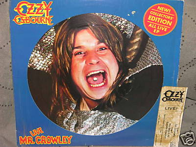 Ozzy Osbourne Collection Being Sold For The Low Low Price Of $50,000