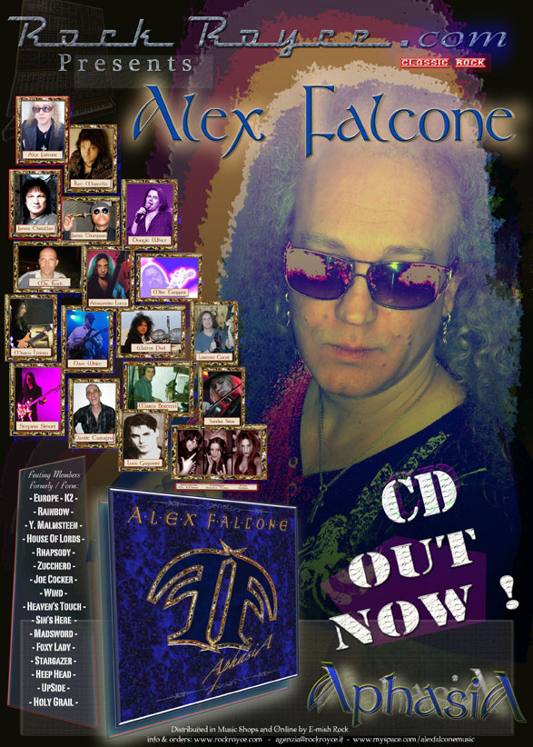 Alex Falcone Releasing Aphasia With Several Guests