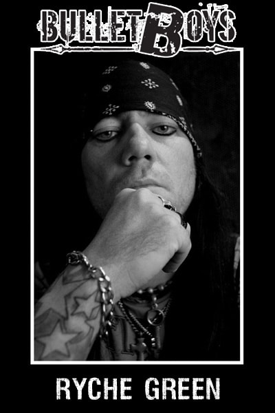 BulletBoys Drummer Ryche Green Signs With DDRUM