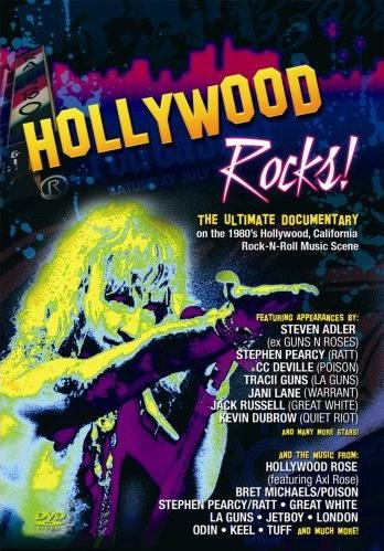 Hollywood Rocks! DVD