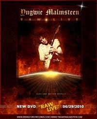 Yngwie Malmsteen Releasing 'Raw Live' DVD