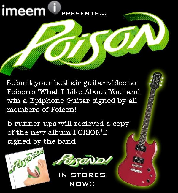 Poison Air Guitar Contest