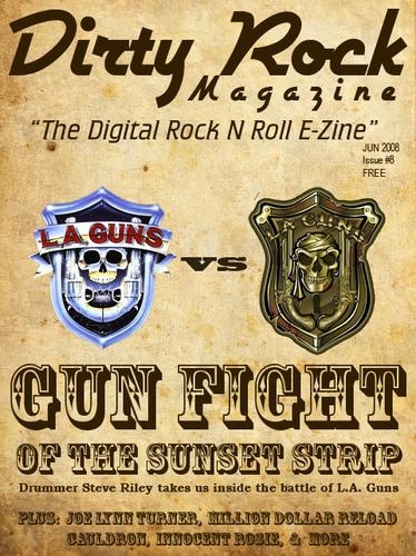 Dirty Rock Magazine Is Now Free, Issue 8 Available