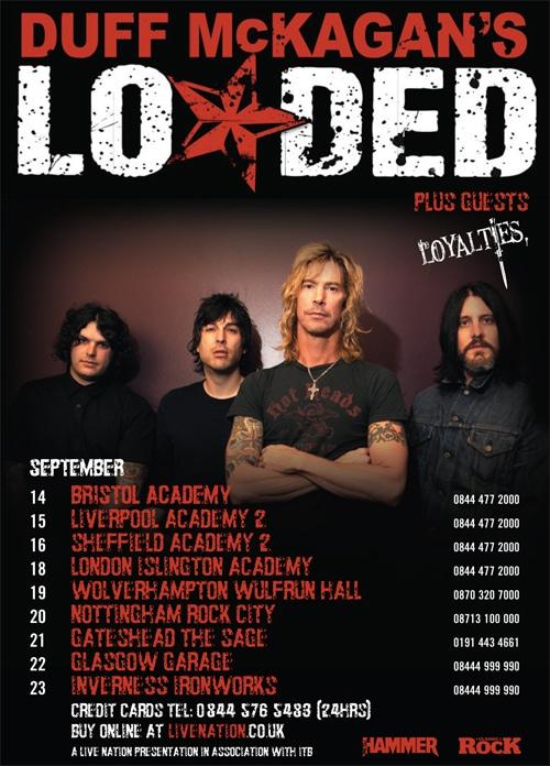 Duff McKagan's Loaded Tour
