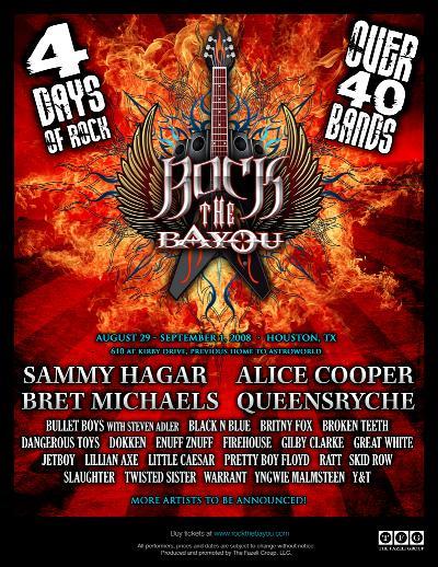 Rock The Bayou Music Festival
