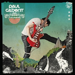 Paul Gilbert To Release Third  Guitar Instrumental CD 'Fuzz Universe'